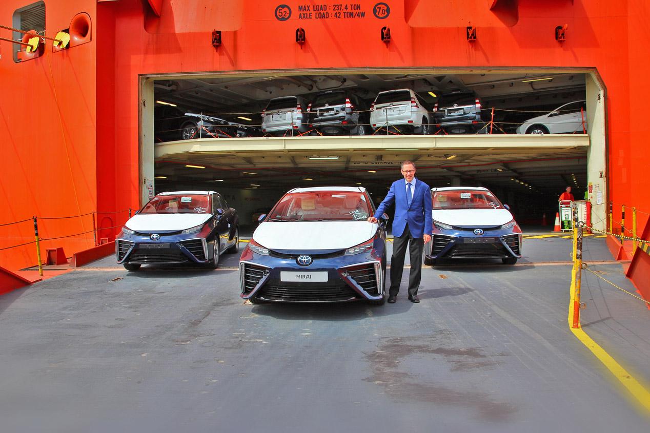 El Toyota Mirai llega a Europa