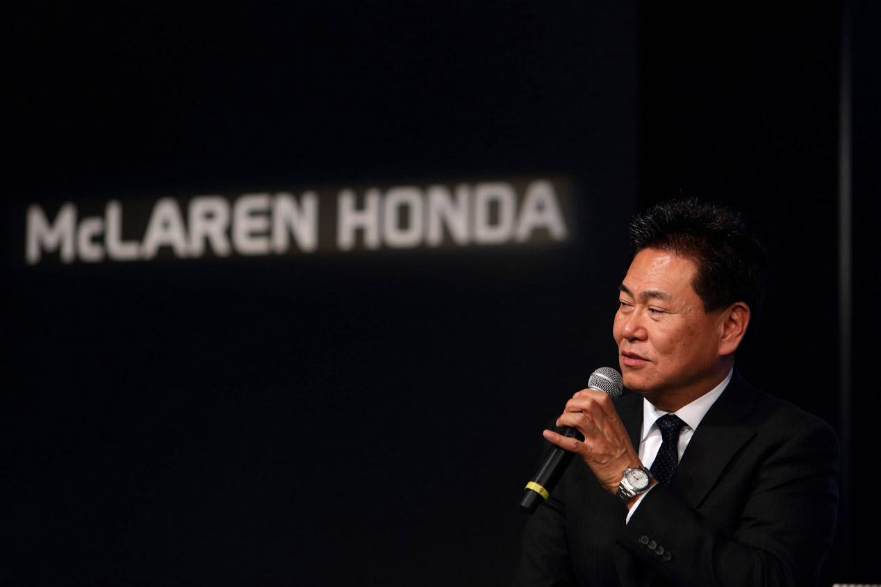 Yasuhisa Arai, jefe de Honda en la Fórmula 1