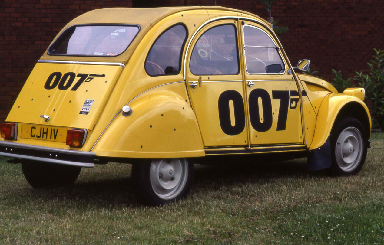 Citroën 2CV James Bond