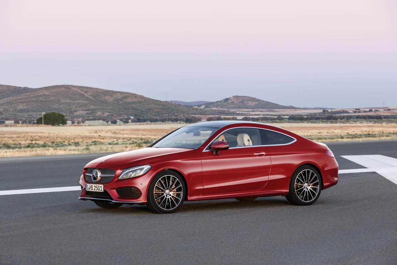 Mercedes Clase C Coupé 2016: elegancia tecnológica y moderna