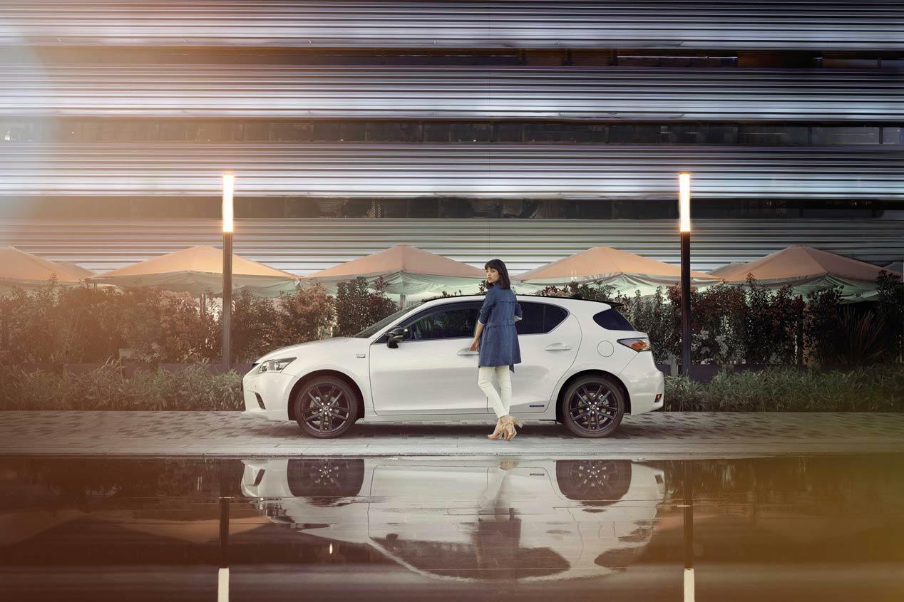 Lexus CT 200h Sport Edition, distinción deportiva