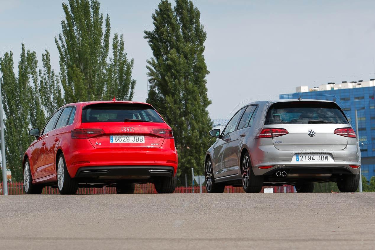 Audi A3 Sportback e-tron vs VW Golf GTE