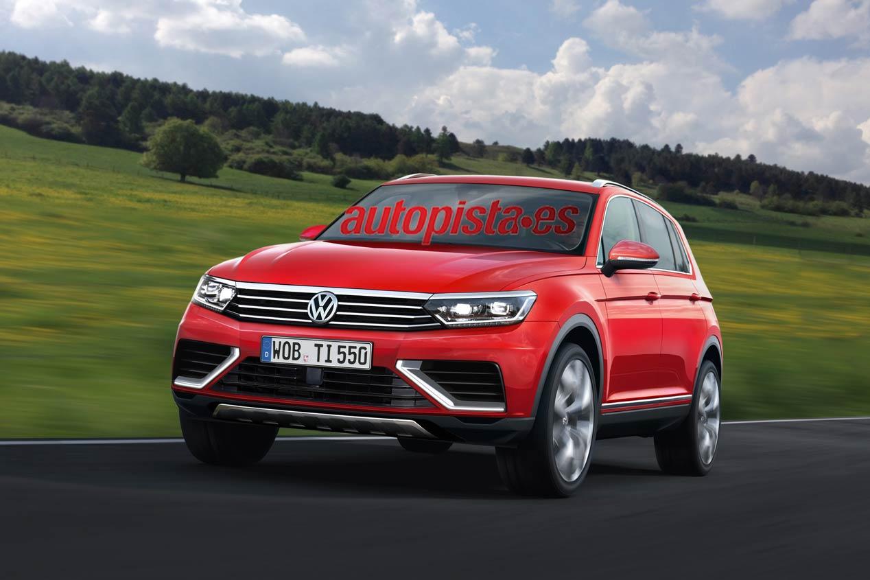 Volkswagen Tiguan 2016, el bombazo SUV para Frankfurt 2015