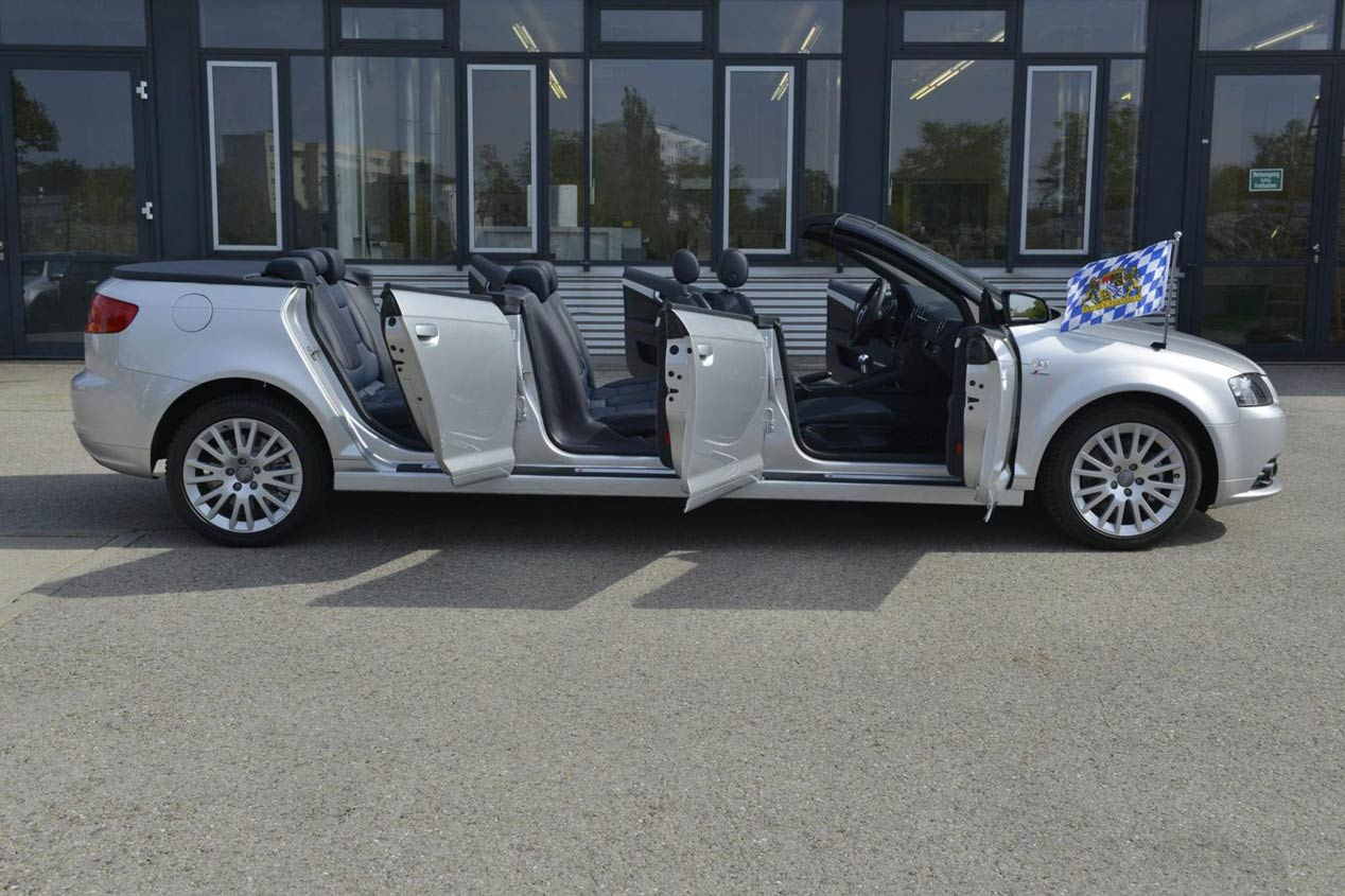 Audi A3 Cabrio de 6 puertas y 8 ocupantes