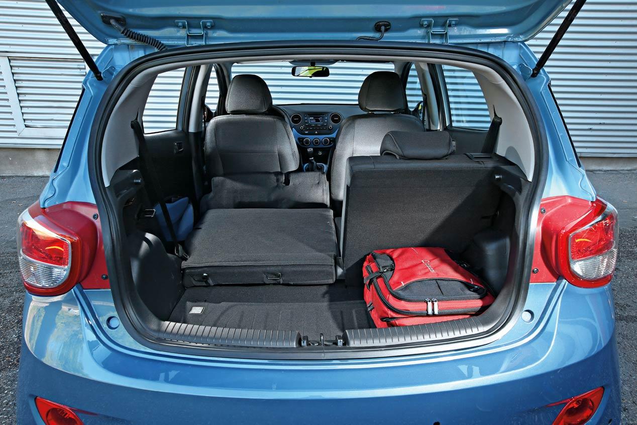 Opel Karl, Hyundai i10, Renault Twingo y VW Up!, ¿cuál ofrece el mejor espacio interior?
