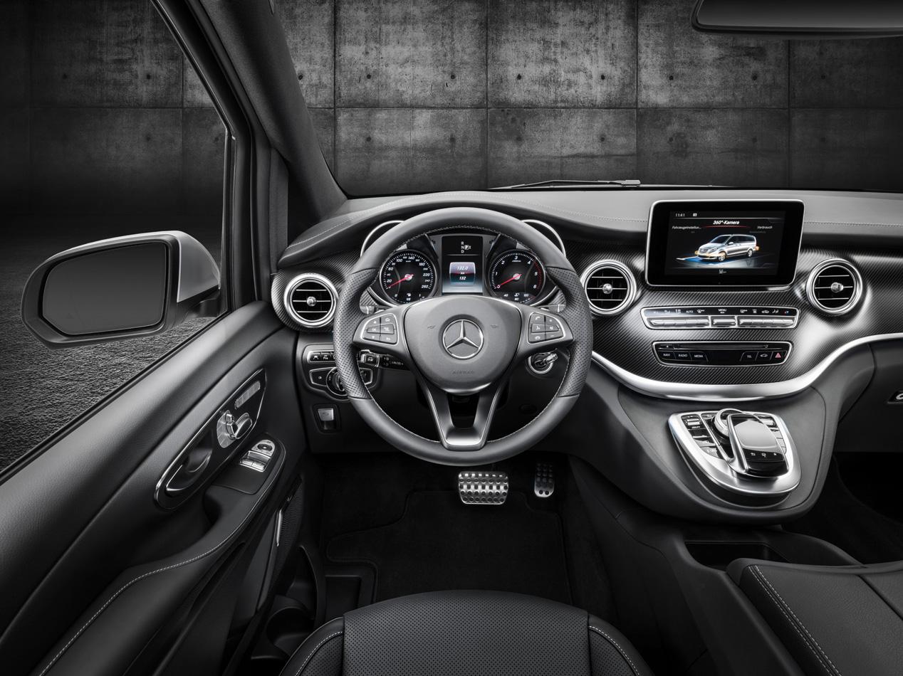 Mercedes Clase V, según AMG