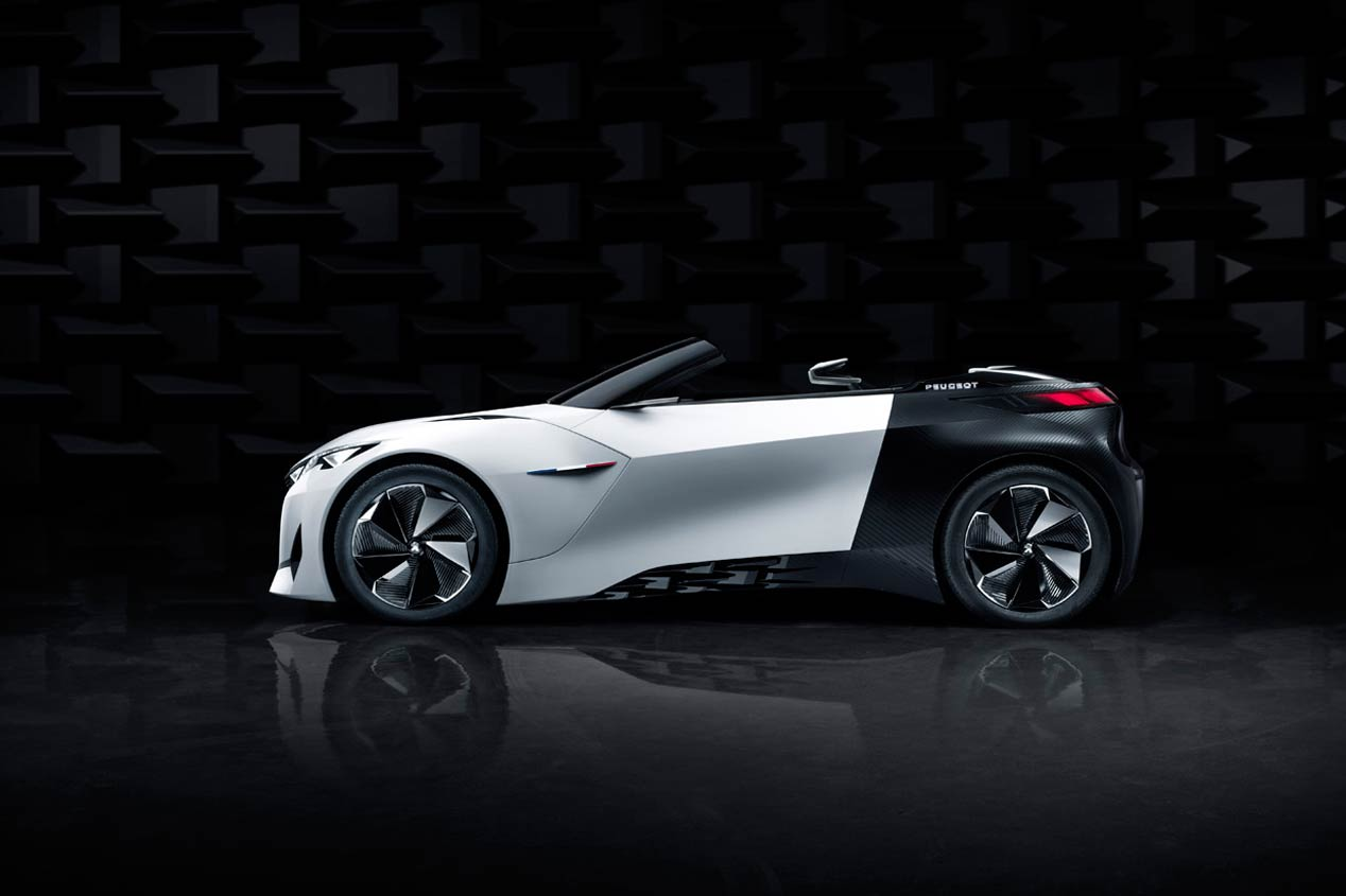 Peugeot Fractal, llega el coupé urbano