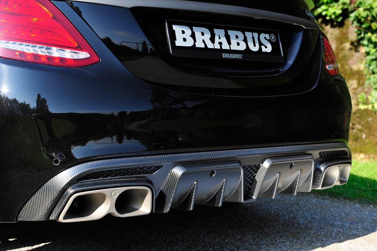 Brabus PowerXtra B40-600, el Mercedes C63S más brutal