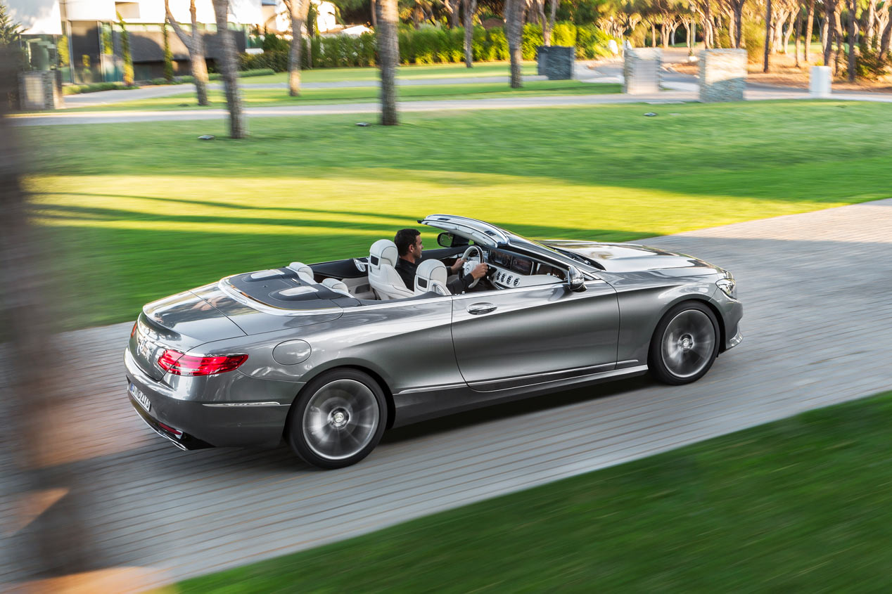 Mercedes Clase S Cabrio 2016