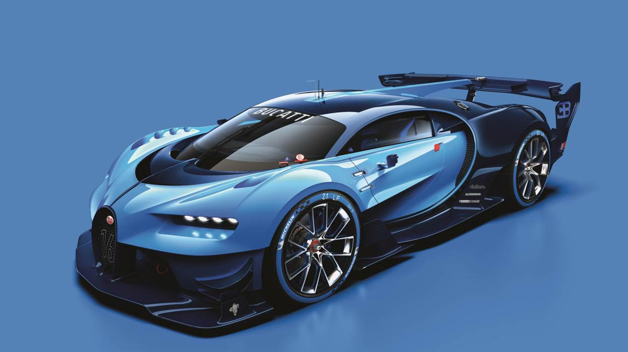 Bugatti Vision Gran Turismo, ¿el brutal sucesor del Veyron?