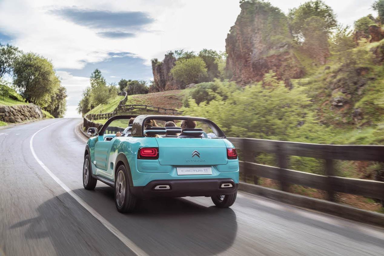 Citroën Cactus M Concept, el Méhari del siglo XXI