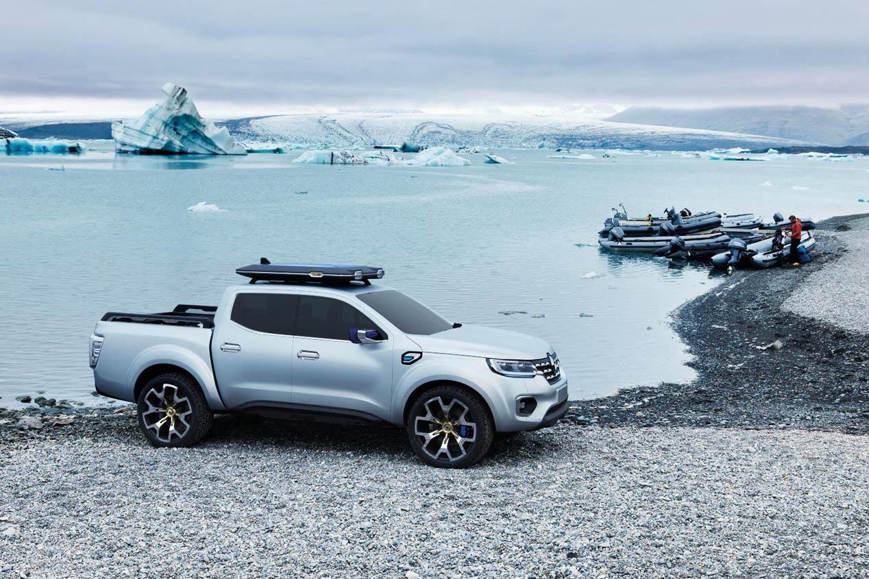 Renault Alaskan Concept, nuevo pick-up para 2016
