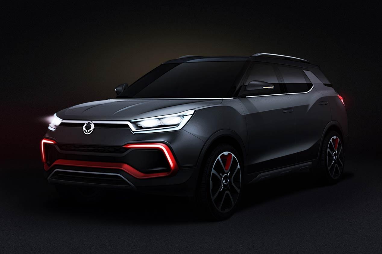 SsangYong XLV-Air: mitad SUV, mitad monovolumen
