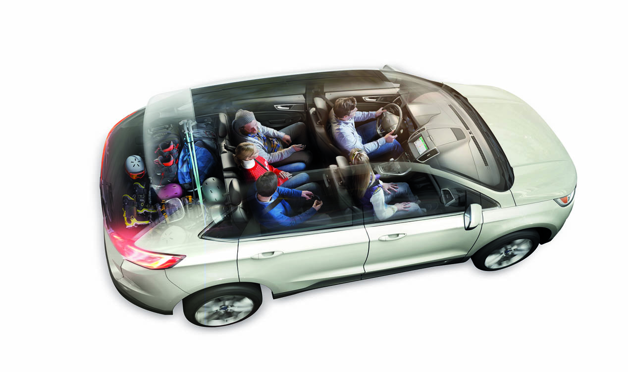 Ford Edge, el SUV norteamericano da el salto