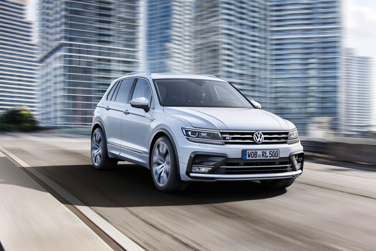 Volkswagen Tiguan 2016, fotos oficiales de la segunda generación