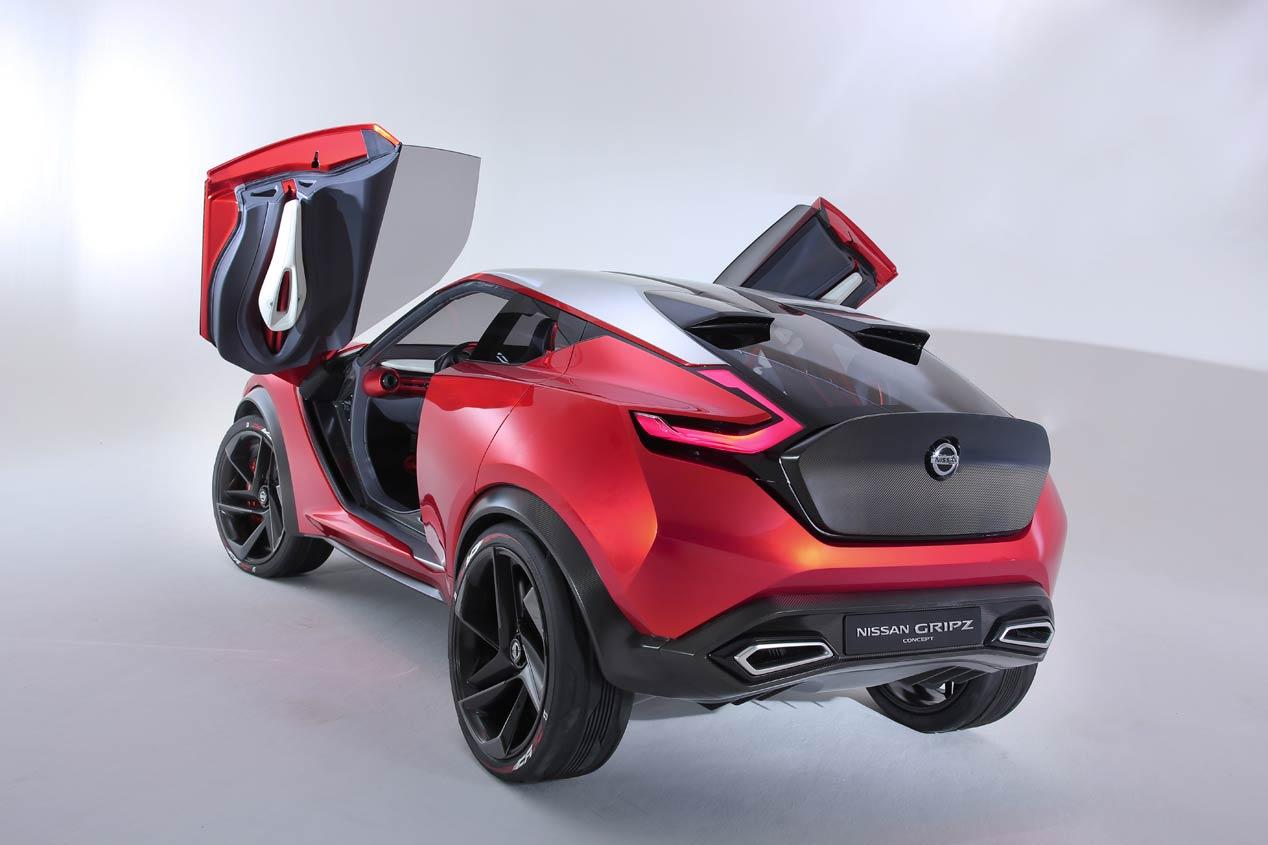 Nissan Gripz, los secretos del futuro Juke