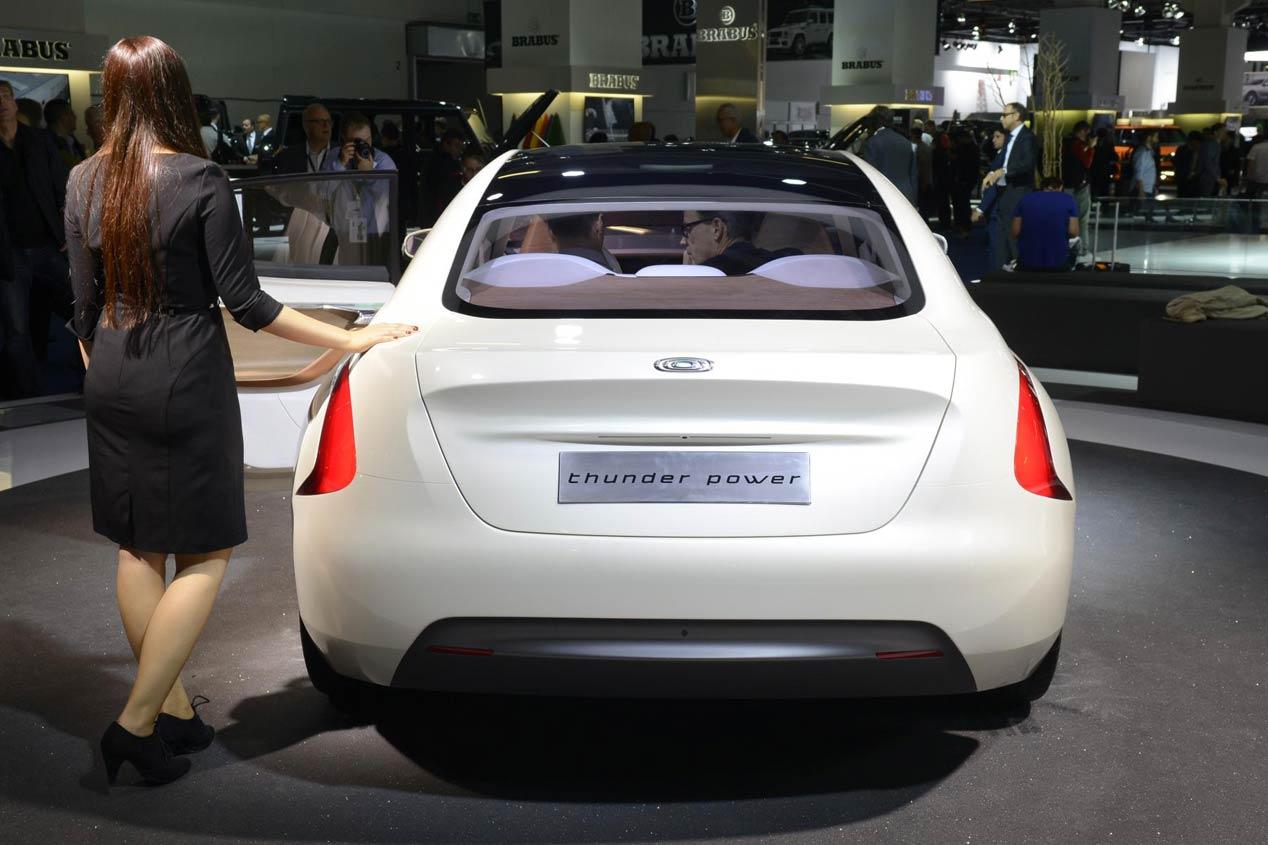 Thunder Power: berlina eléctrica china de más de 600 km de autonomía