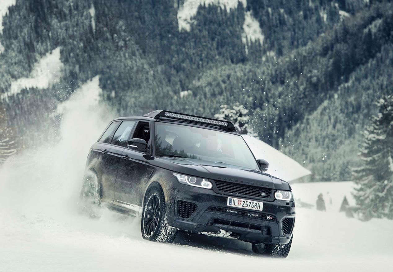 Los coches de Jaguar-Land Rover en James Bond 'Spectre'