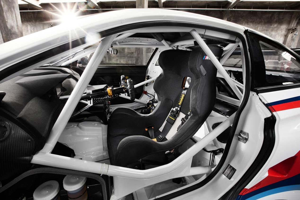 BMW M6 GT3, animal de competición