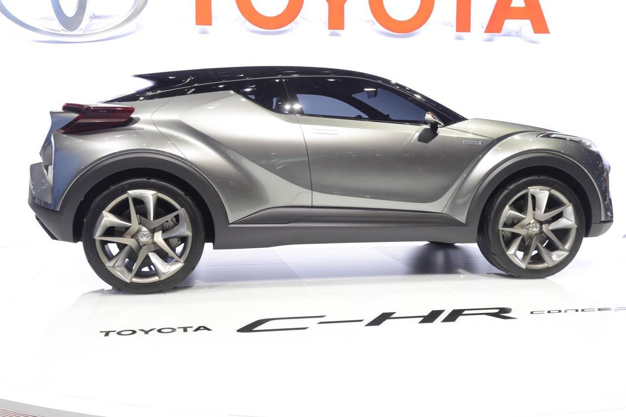 Toyota C-HR Concept, confirmada su producción