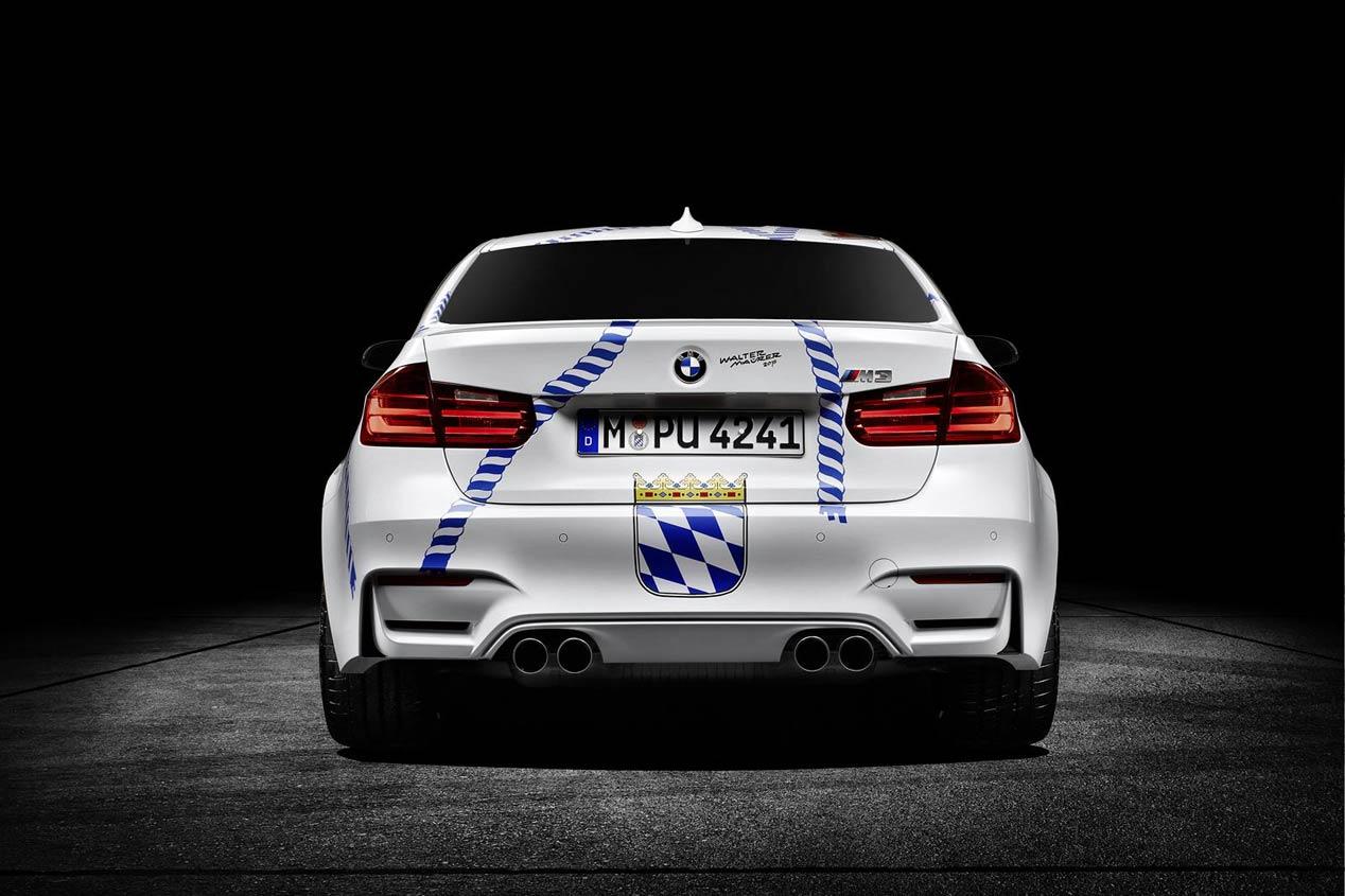 BMW va a la Oktoberfest 2015 con un M3 muy especial