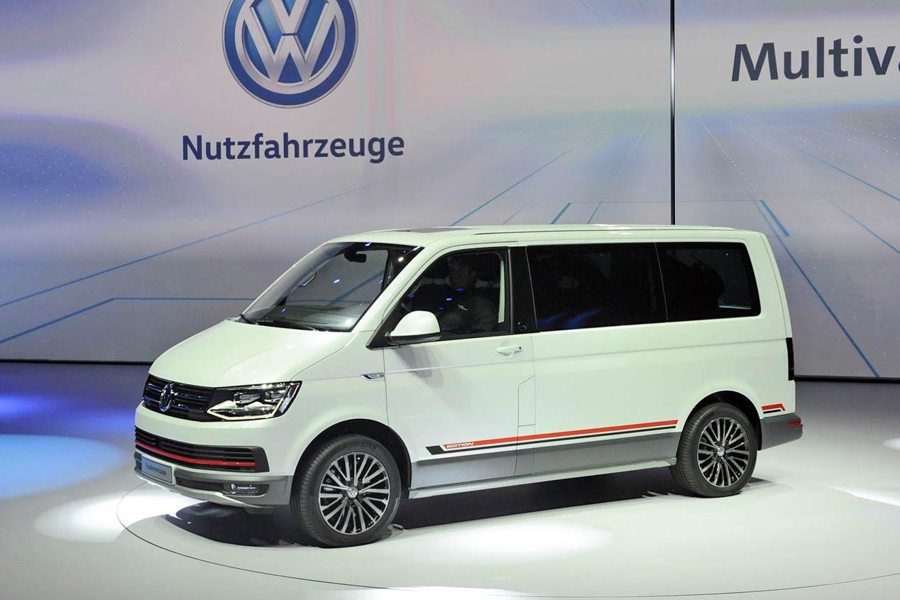 VW Multivan PanAmerican Concept, para llevar tu moto donde quieras