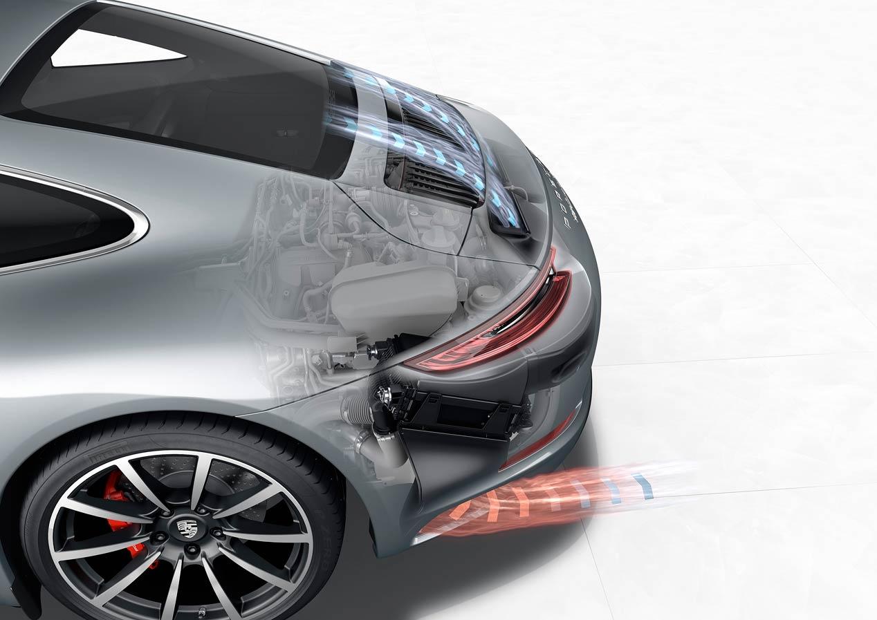 Así son los motores turbo de los nuevos Porsche 911 Carrera y Carrera S