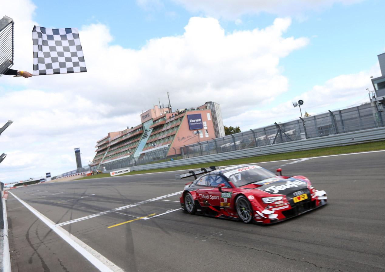Miguel Molina consigue su primera victoria en el DTM