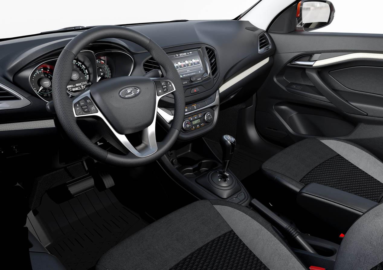 Lada Vesta sedán, comercializado por AutoVaz