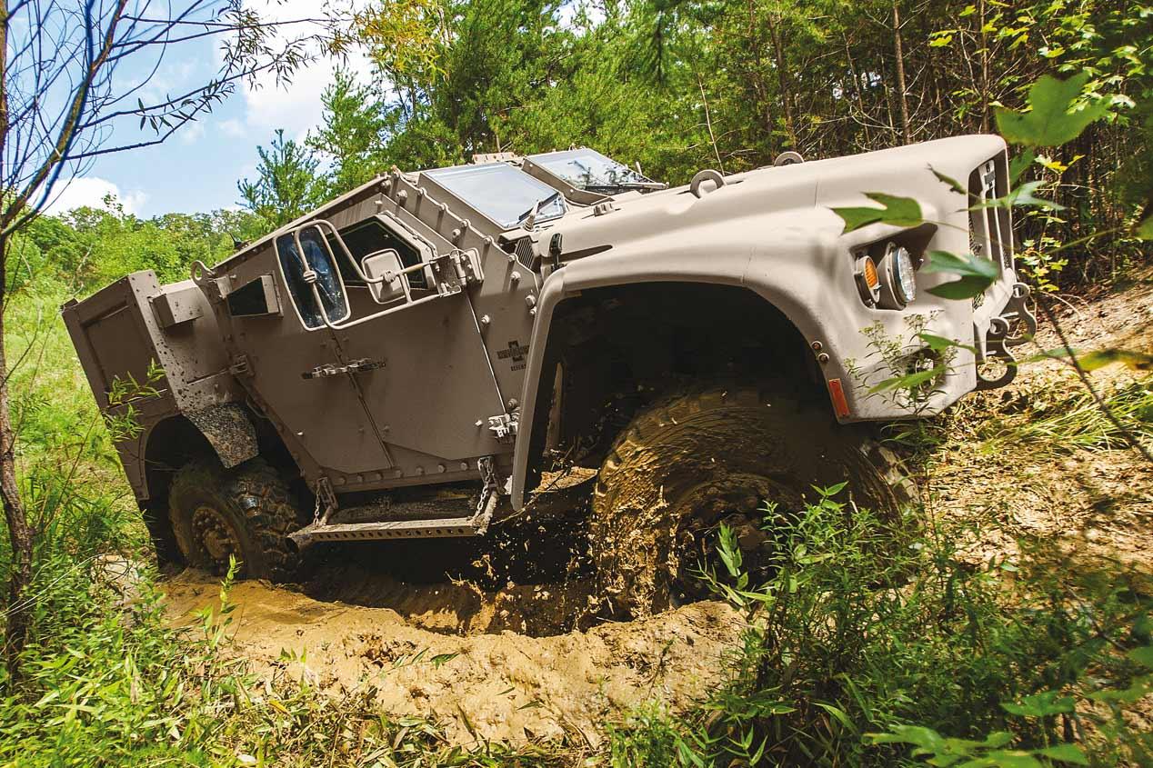 Oshkosh JLTV, el nuevo vehículo militar de los EE.UU.