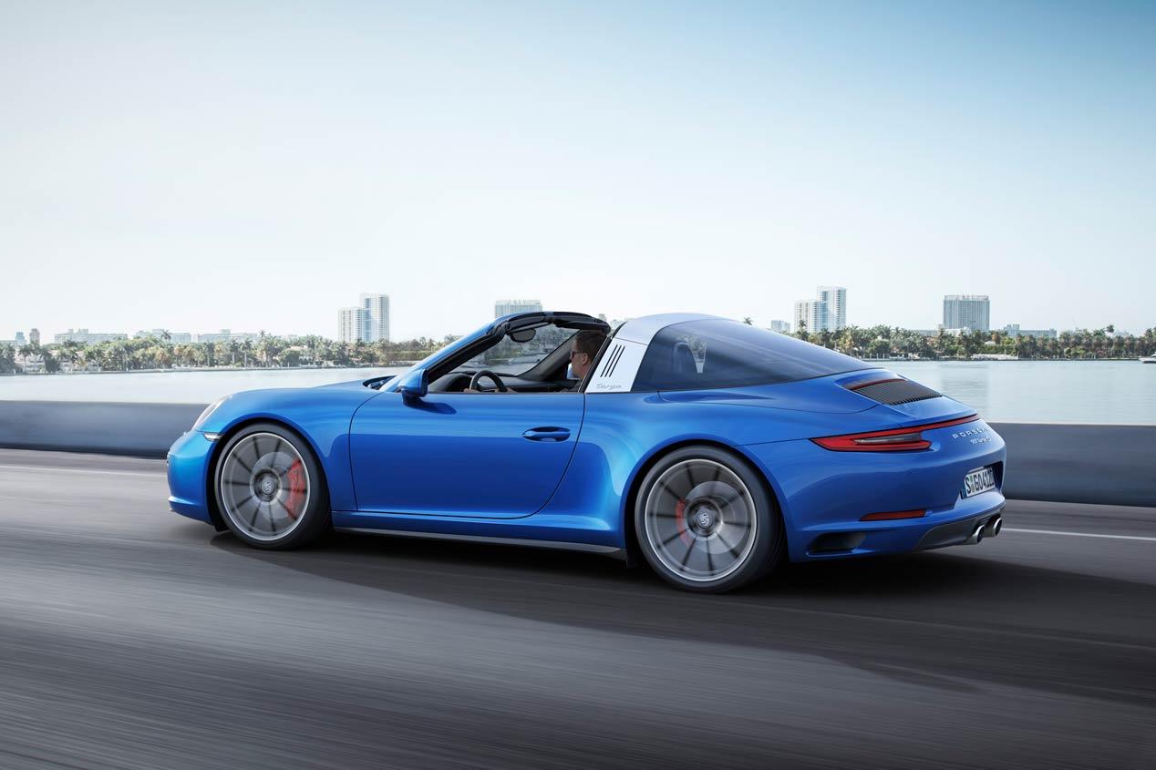 Porsche 911 Carrera 4 y 911 Targa 4 2016, las mejores fotos