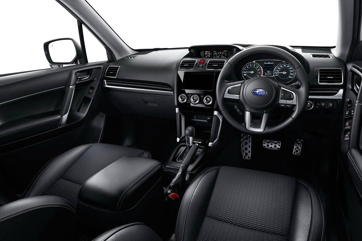 Subaru Forester 2016, las fotos del renovado SUV japonés