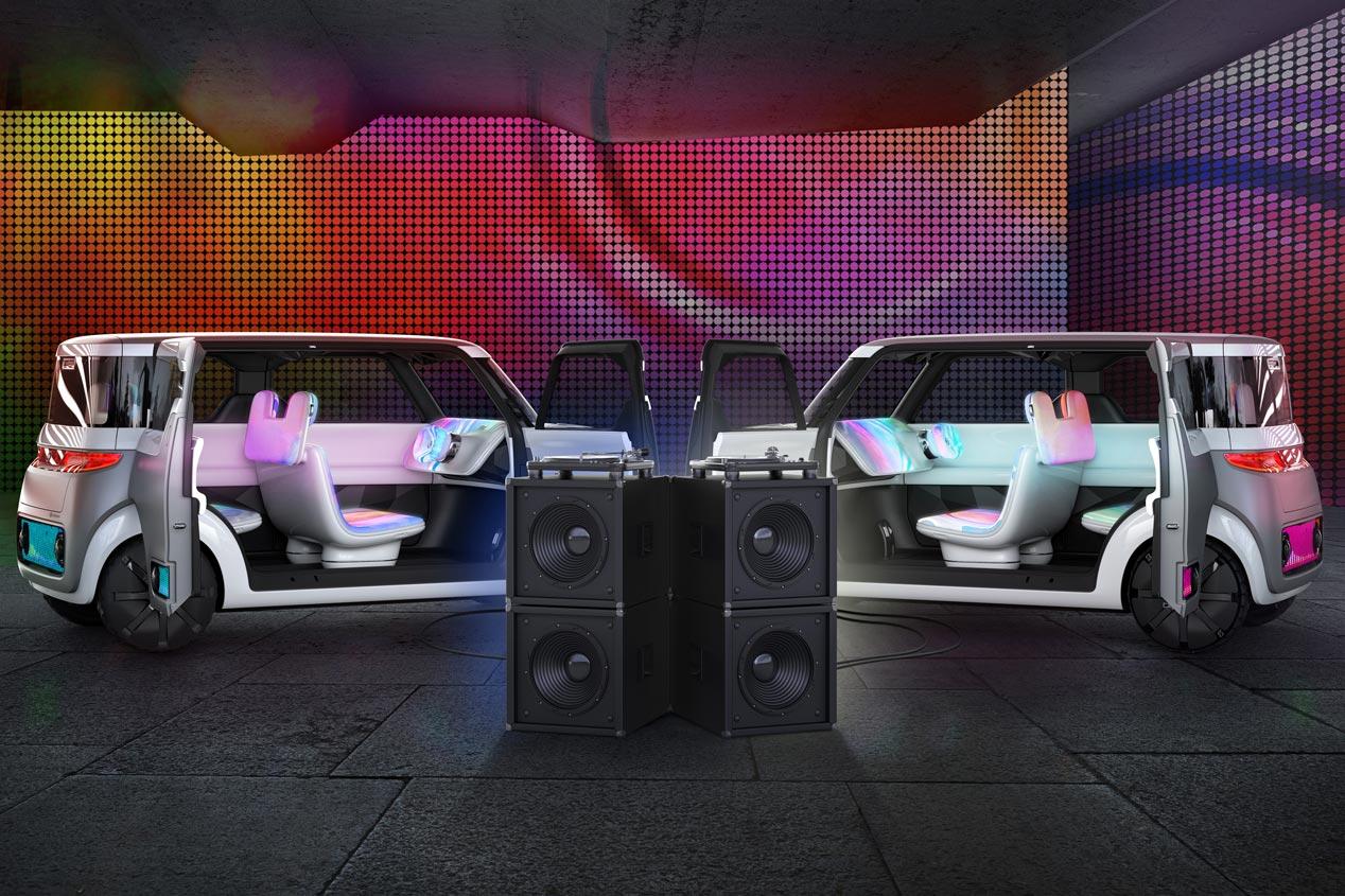 Nissan Teatro for Dayz, todo conectividad