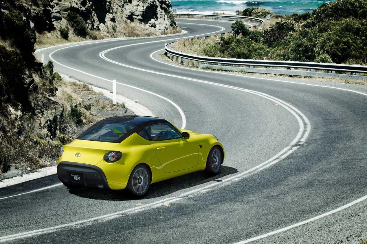 Toyota S-FR Concept,pequeño y económico coupé