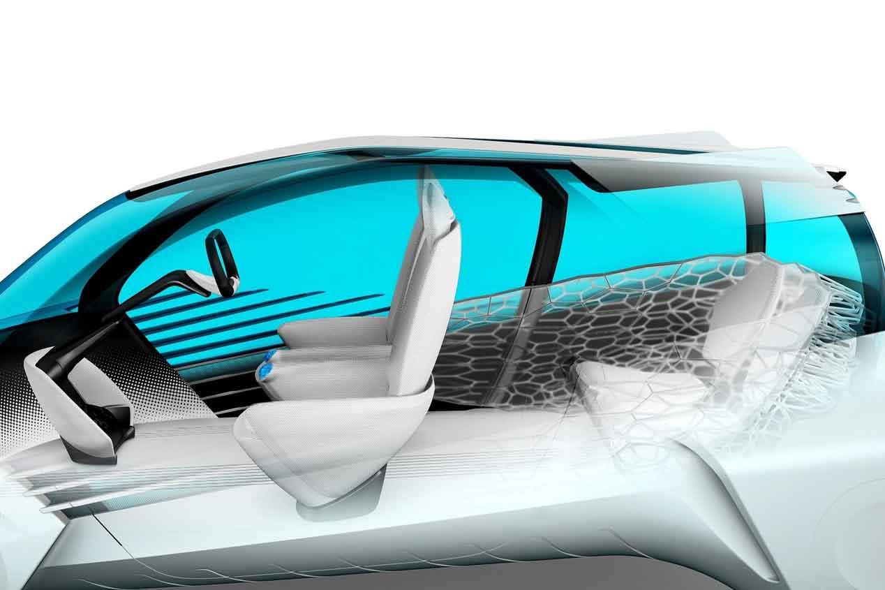 Toyota FCV Plus Concept: hidrógeno y electricidad para la ciudad