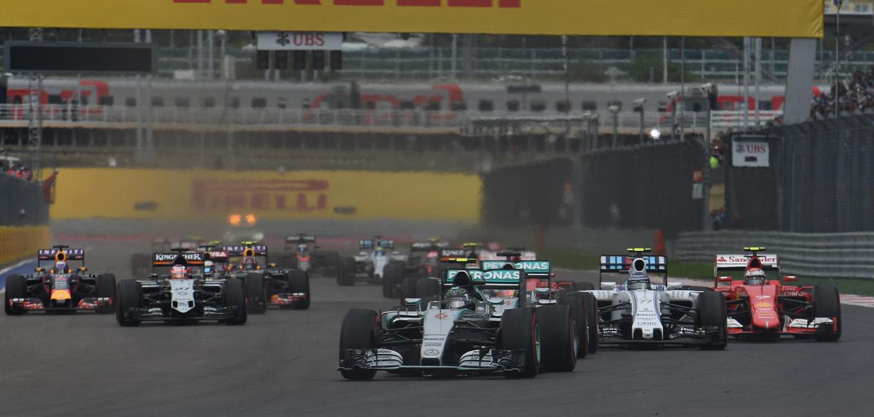 Gran Premio de Rusia 2015: Hamilton, más cerca del Mundial