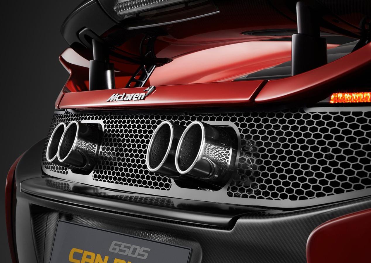 McLaren 650S Can-Am, un guiño a la historia