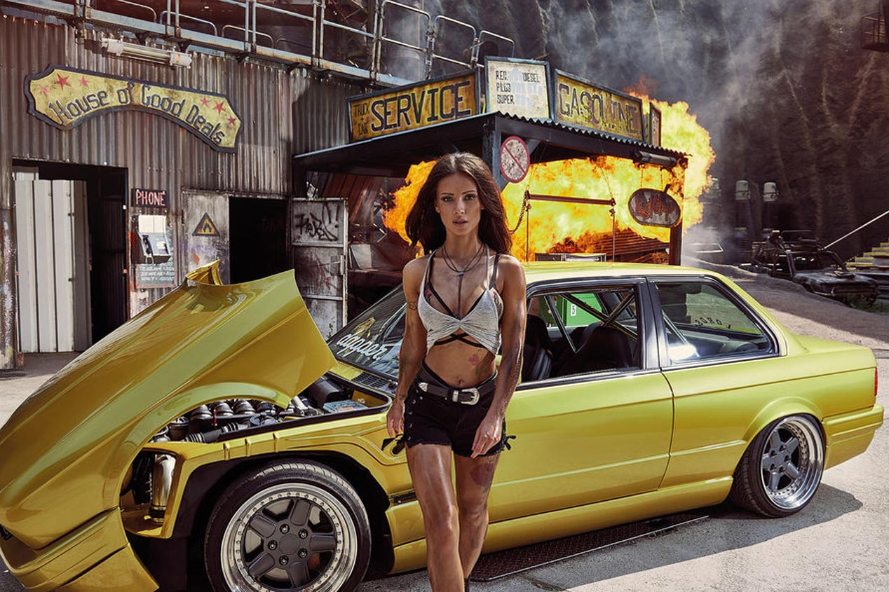 Miss Tuning 2016: erotismo y coches