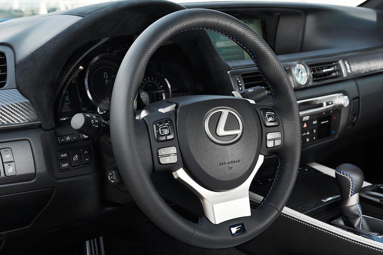 Lexus GS F, berlina y deportivo: un dos por uno