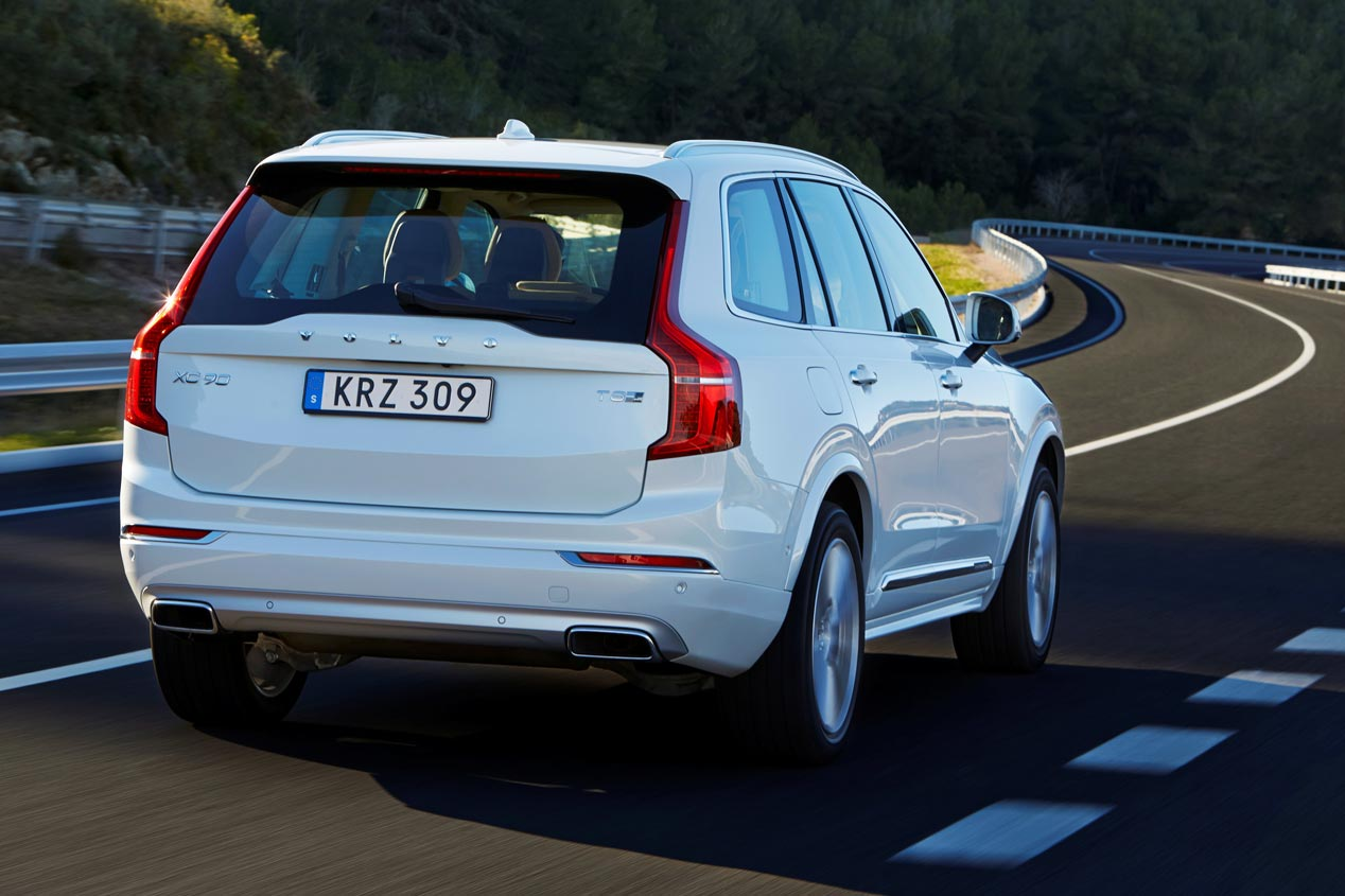 Volvo XC90 T8 Twin Engine, el híbrido enchufable sueco