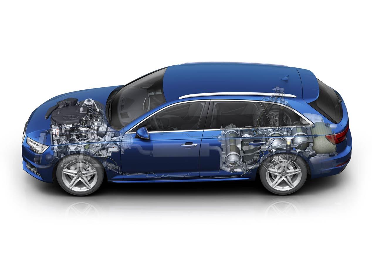Audi A4 Avant g-tron, el segundo bi-fuel de la marca