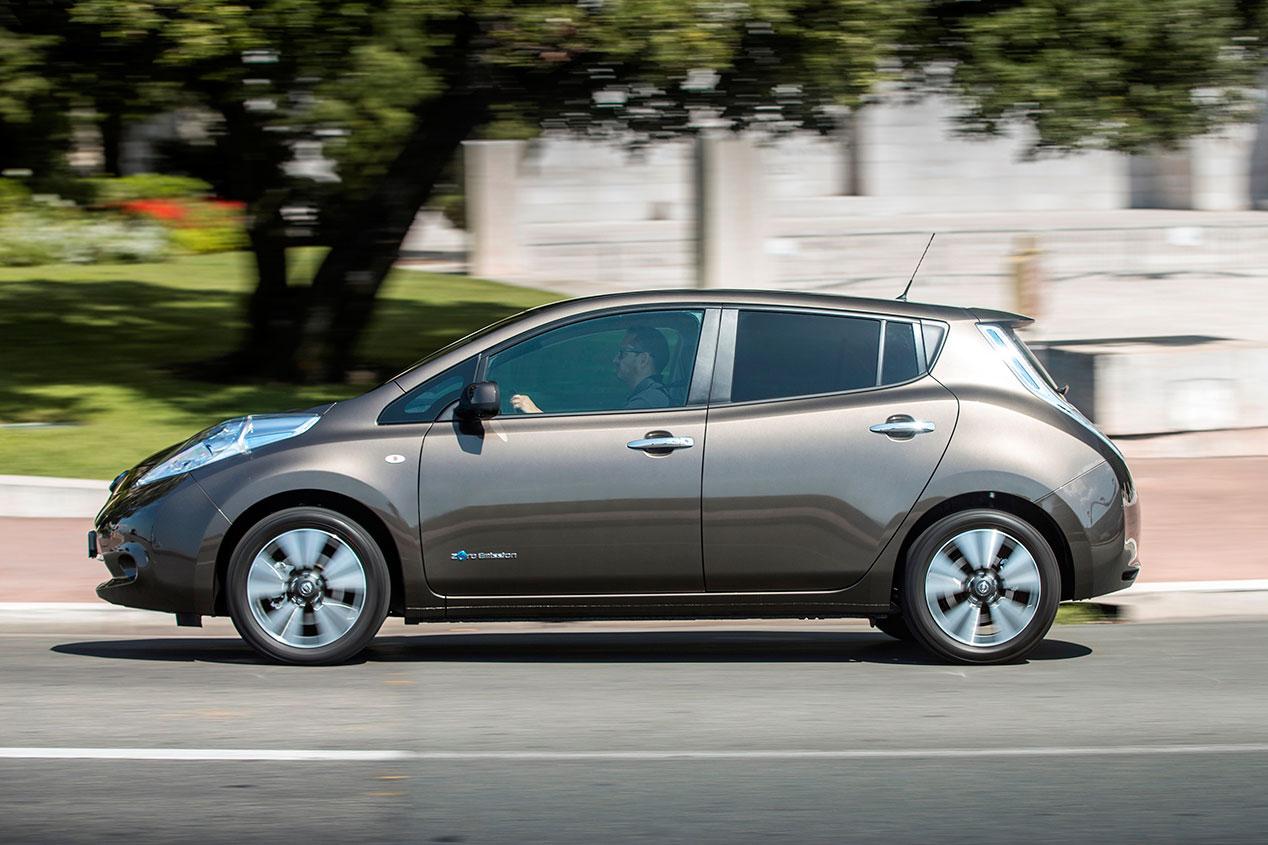 Más autonomía para el Nissan Leaf: 250 km