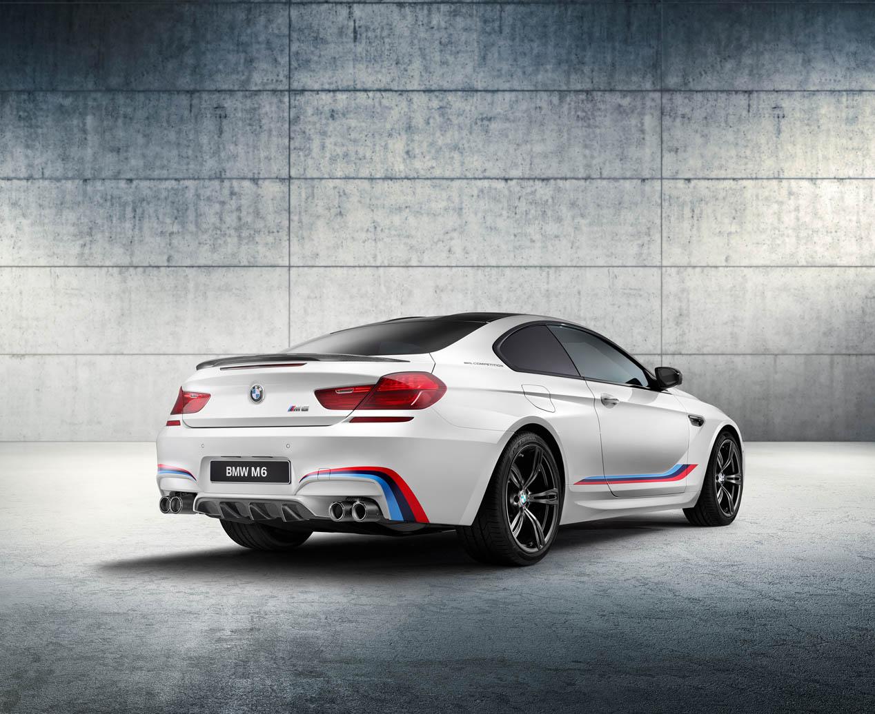 BMW M6 Coupé Competition Edition, más potente