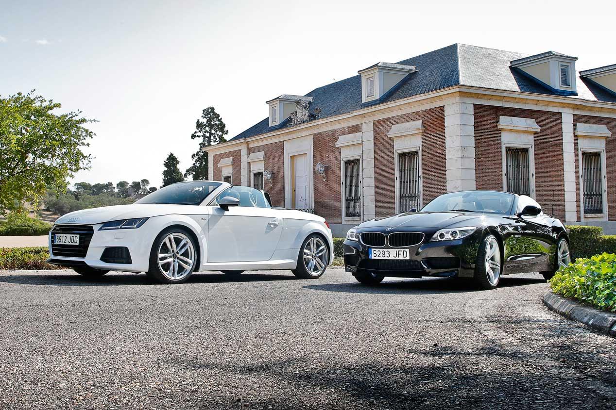 Audi TT Roadster 2.0 TFSi Quattro y BMW Z4 28i sDrive enfrentados