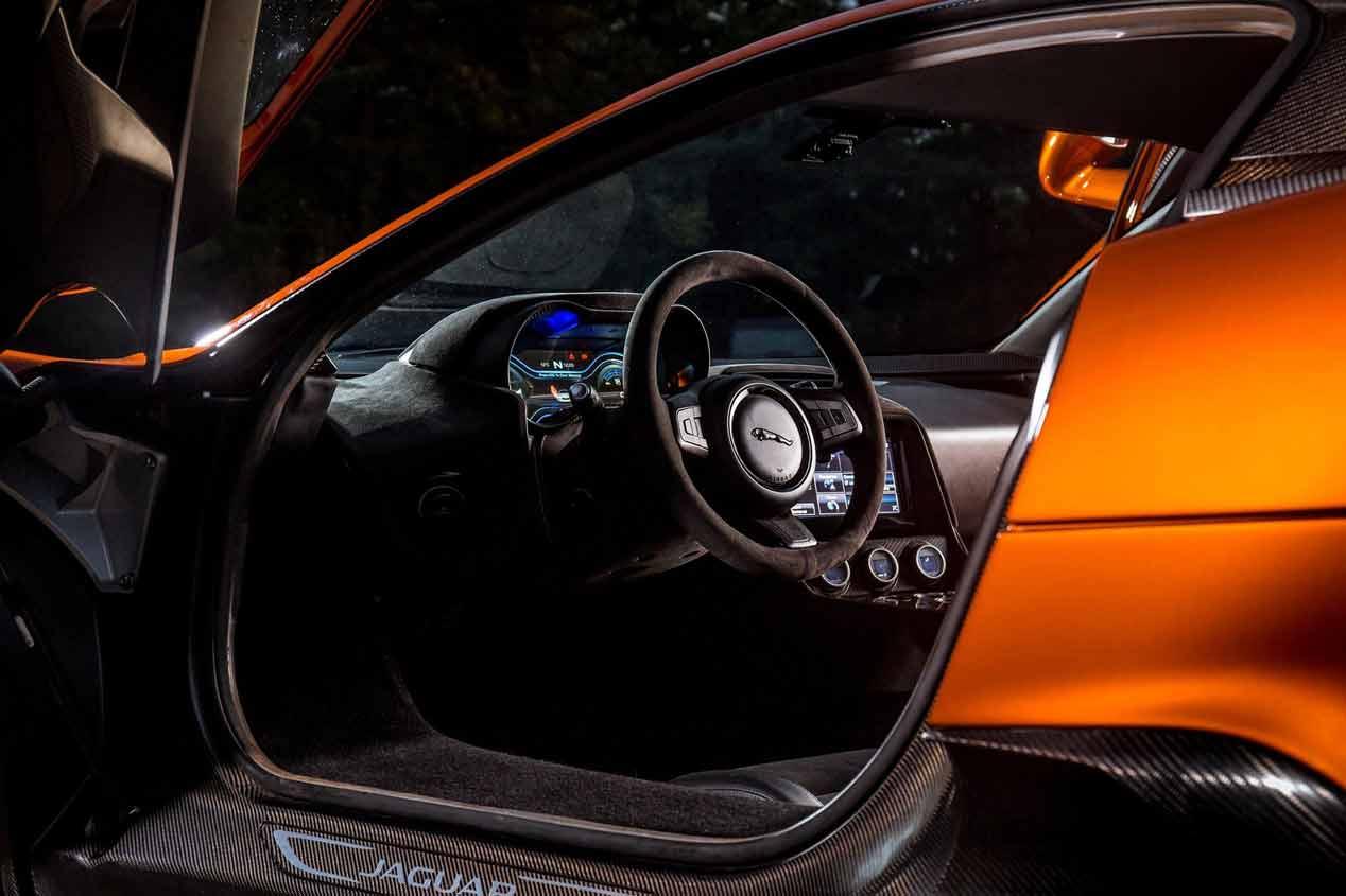 Jaguar C-X75 Bond Concept, las fotos de este brutal deportivo