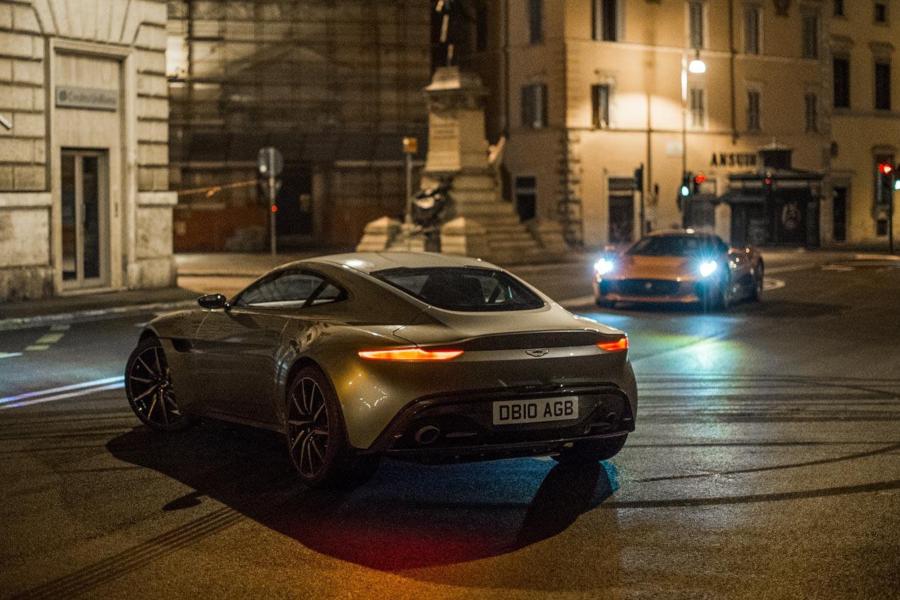 Escenas de acción de Spectre, la última película de James Bond