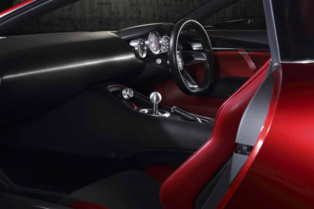 Mazda RX-Vision, vuelve el motor rotativo