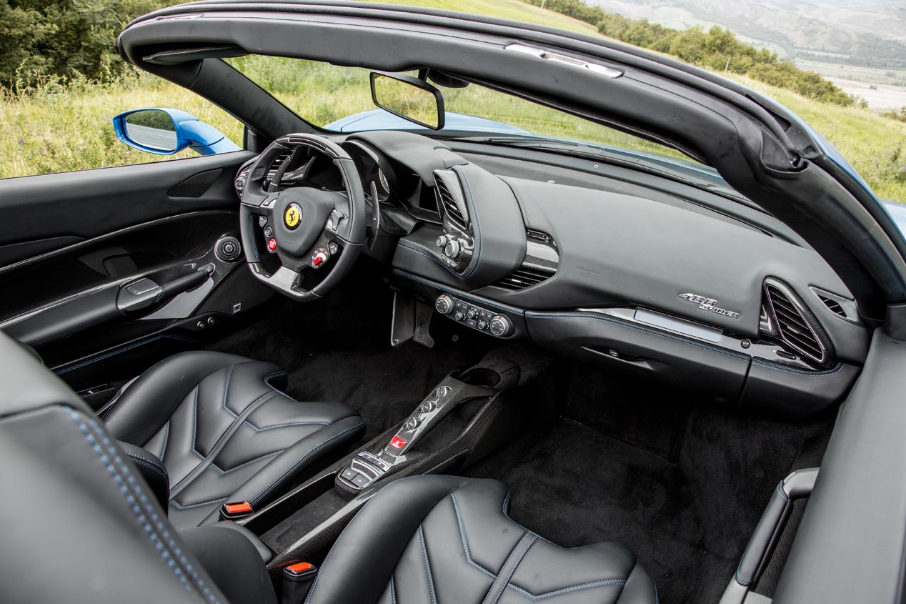 Ferrari 488 Spider, descapotable con turbo