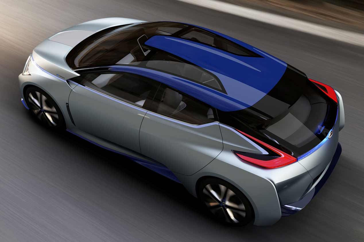 Nissan IDS Concept: conduce solo y no contamina