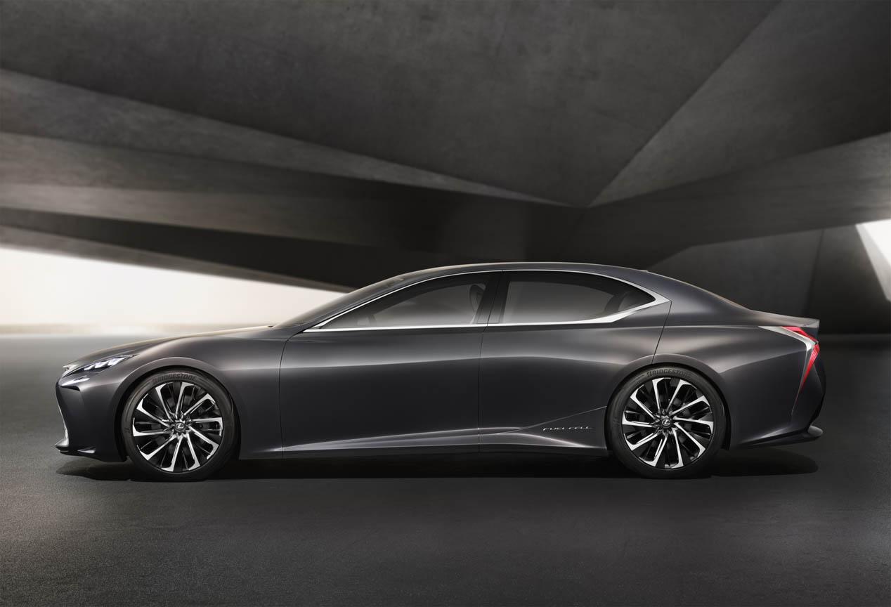 Lexus LF-FC Concept, el futuro Lexus LS